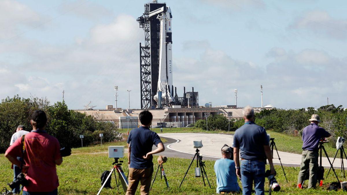 La NASA y SpaceX listos para lanzar la primera misión tripulada operativa de la cápsula Dragón a la ISS