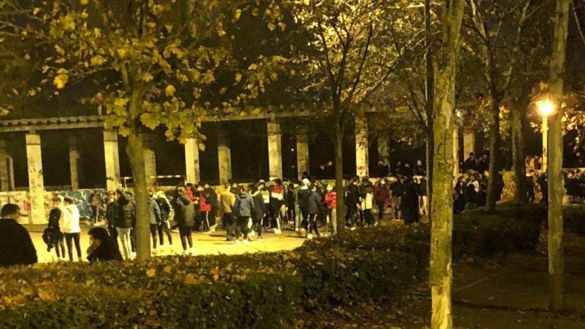 Refuerzo policial en el barrio vallisoletano de Parquesol tras reunirse medio centenar de adolescentes