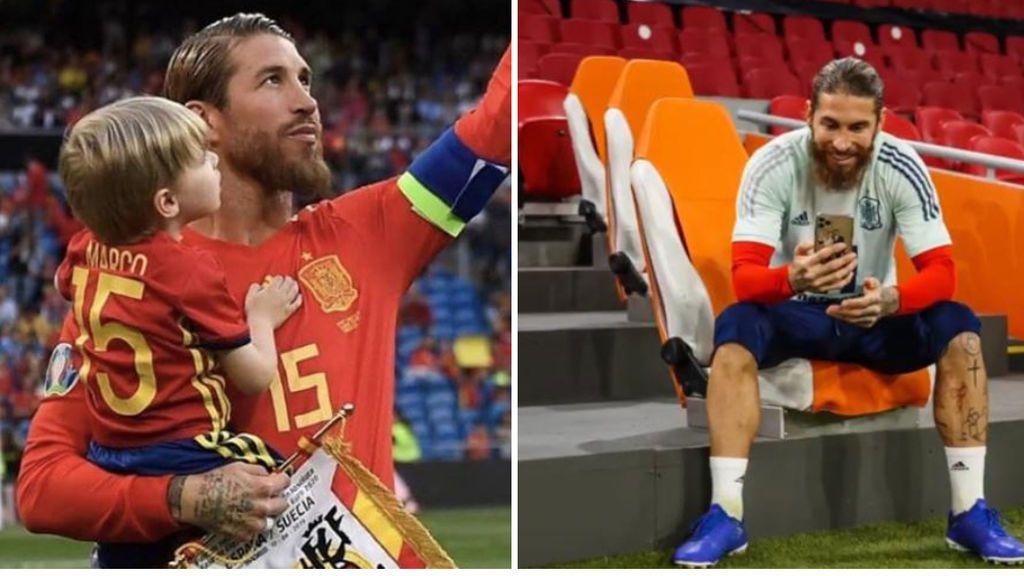 La emotiva felicitación de cumpleaños de Sergio Ramos a su hijo Marco por no poder estar junto a él