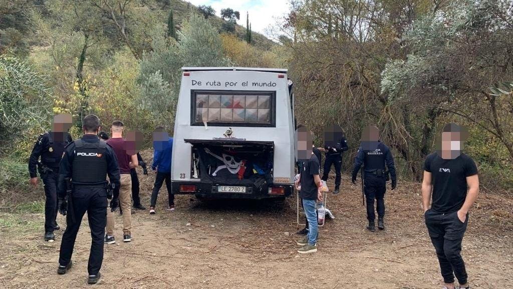 Rave frustrada en Granada