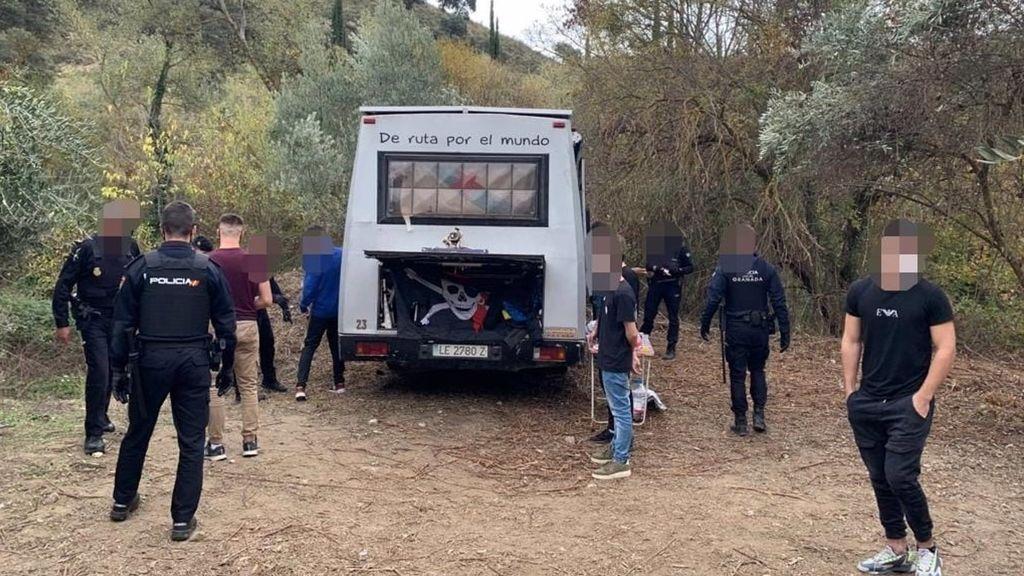 Frustran una rave en Granada en una jornada con más de 120 denuncias, 70 de ellas por botellón