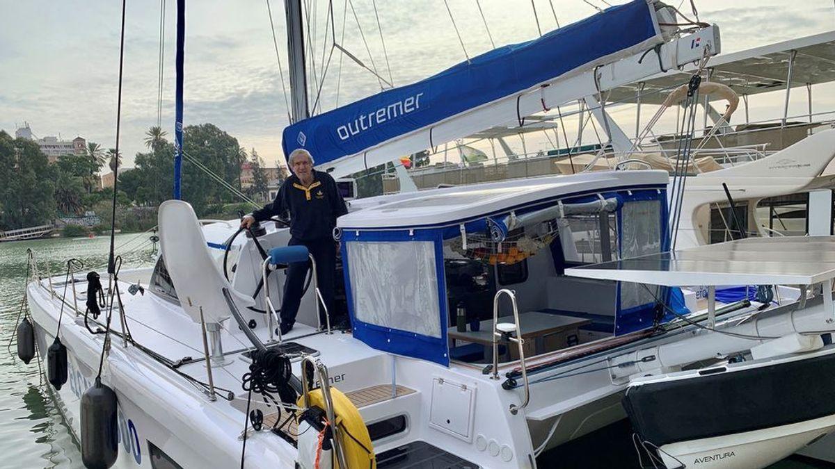 """Un capitán de 80 años realizará la réplica de la primera vuelta al mundo con emisión cero: """"Soy un aventurero"""""""