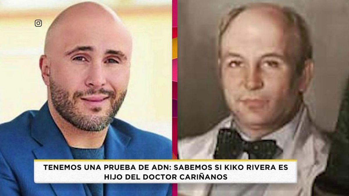 Este es el resultado de la prueba de ADNI de Kiko Rivera: ¿es hijo del doctor Cariñanos y no de Paquirri?