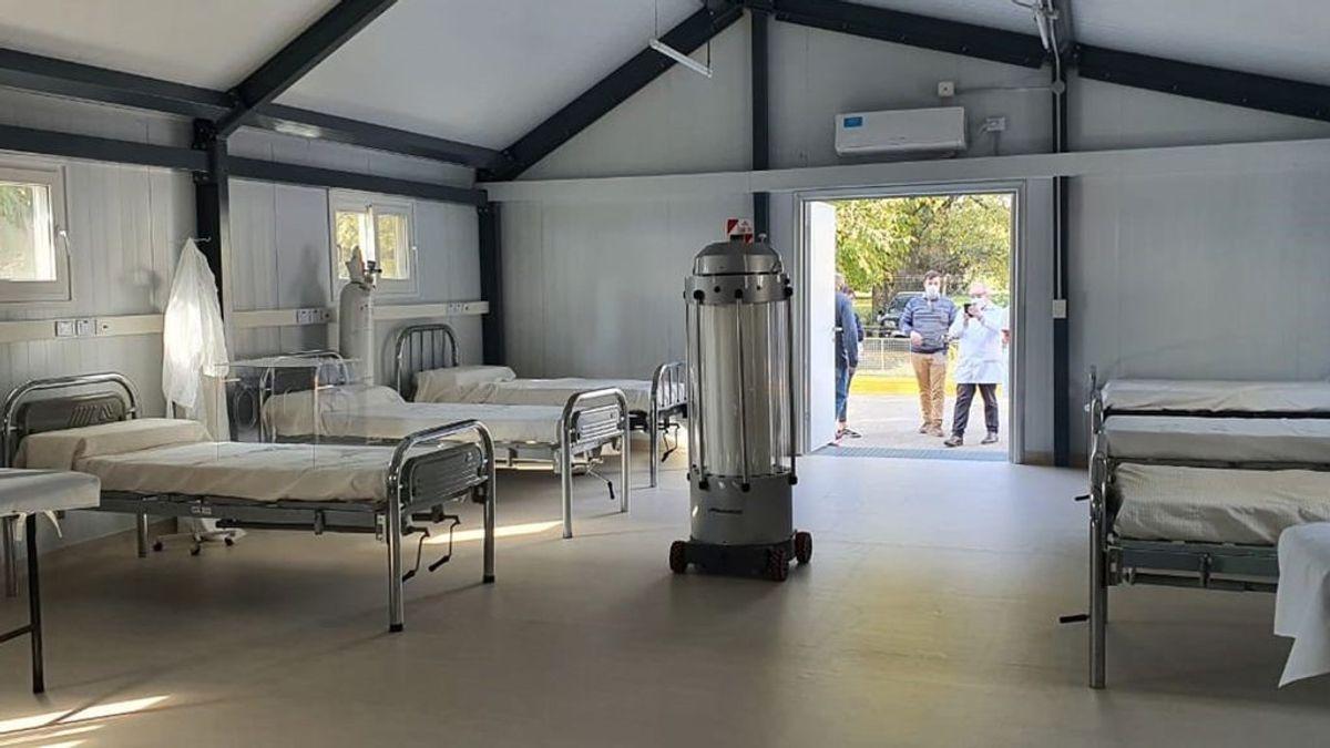 Llega a España un robot que desinfecta las habitaciones de la UCI en menos de 20 minutos