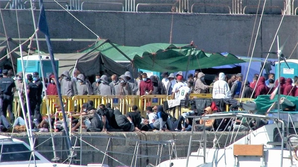 Canarias duplica en un mes los migrantes llegados a sus costas desde primeros de año