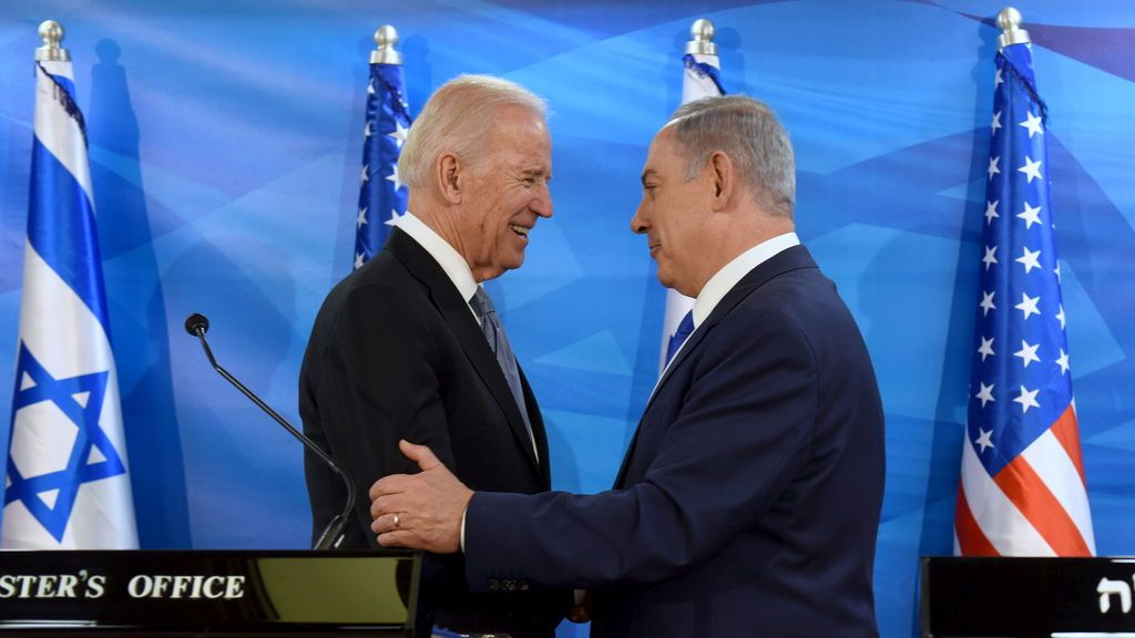 "Netanyahu se prepara para un Biden ""menos amigo"" que Trump"