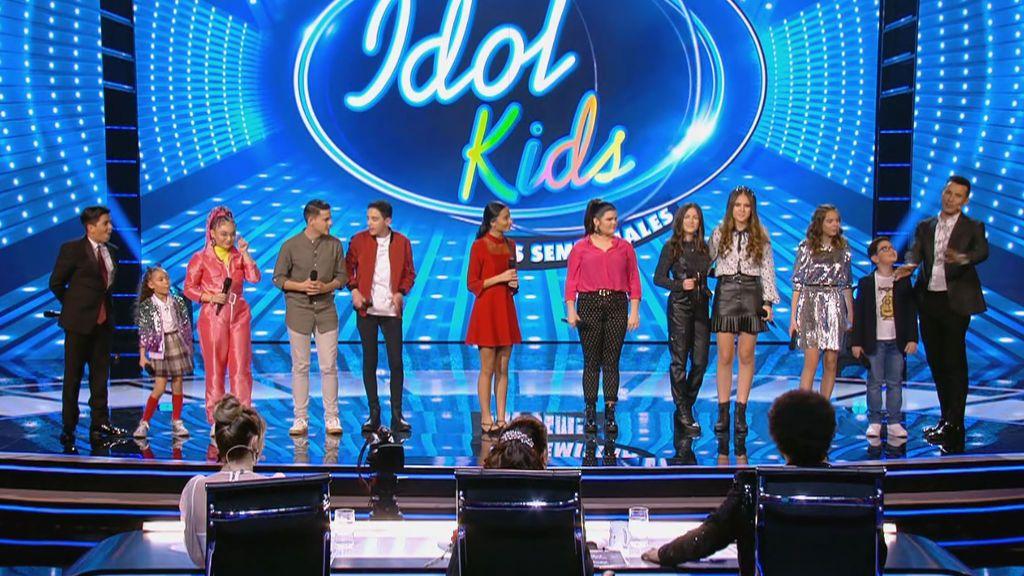 Semifinal 2 Idol Kids Temporada 1 Programa 11