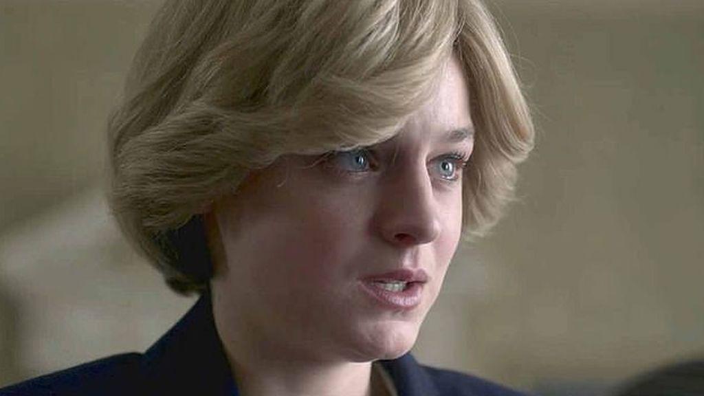 Diana de Gales (Emma Corrin) en 'The Crown'