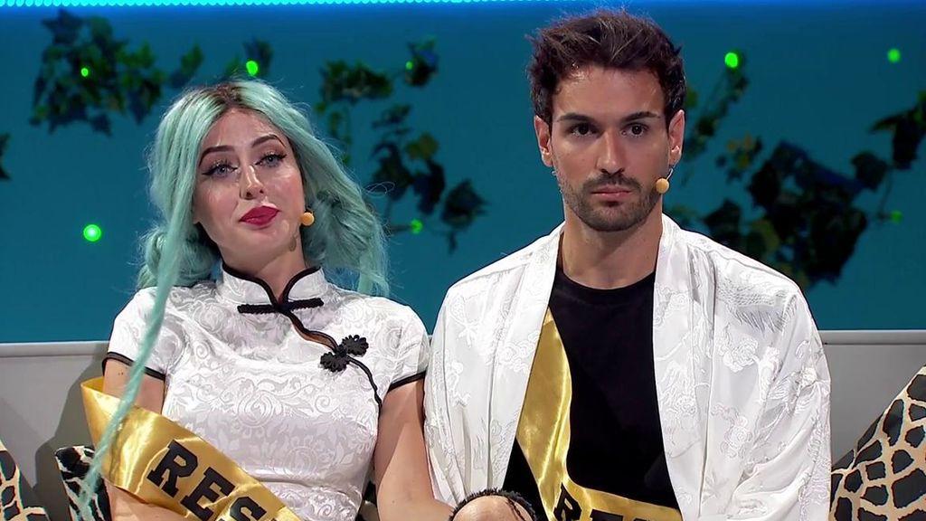 Mahi y Rafa son la pareja más votada por los usuarios de la web y se convierten en inmunes