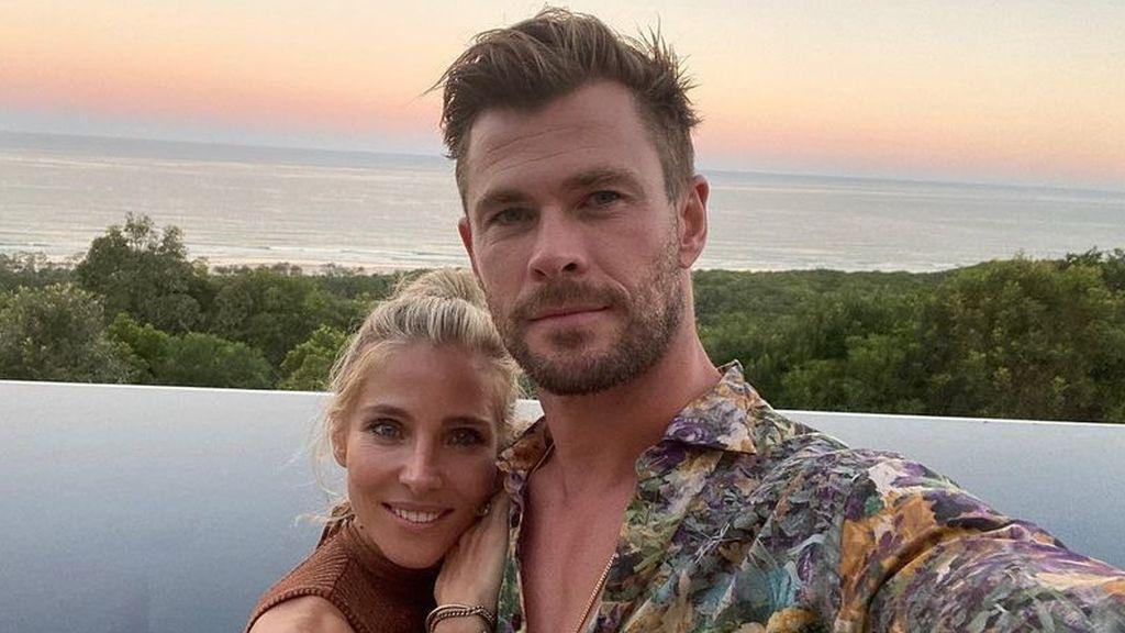 """Chris Hemsworth felicita a su madre y sus fans la confunden con Elsa Pataky: """"Pensé que era tu mujer"""""""