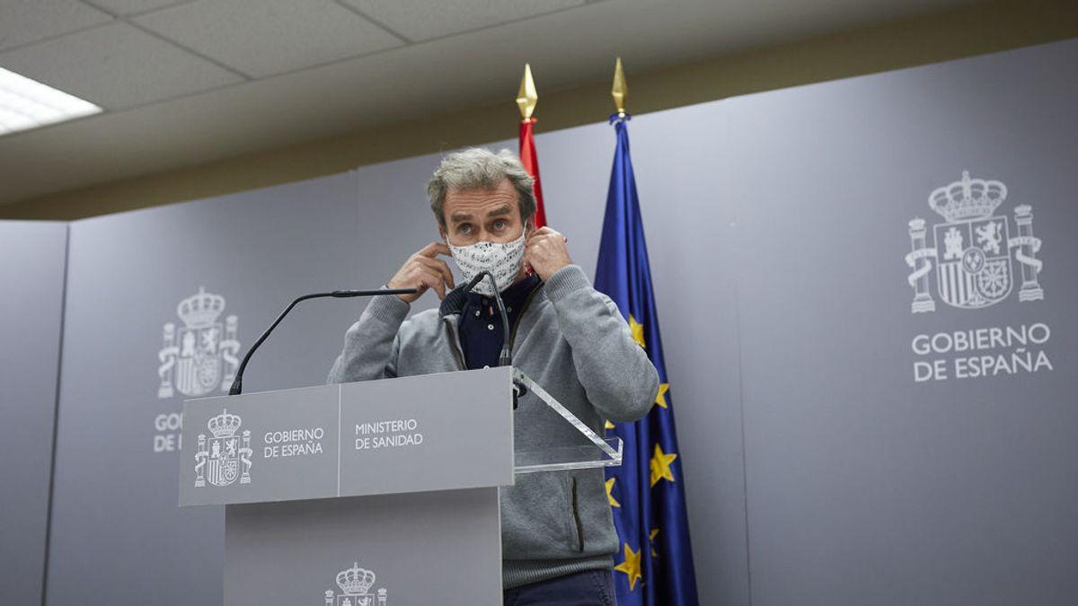 """Fernando Simón: """"Que vean mis declaraciones enteras"""" / """"España tendrá un 10% de las vacunas de Europa"""""""