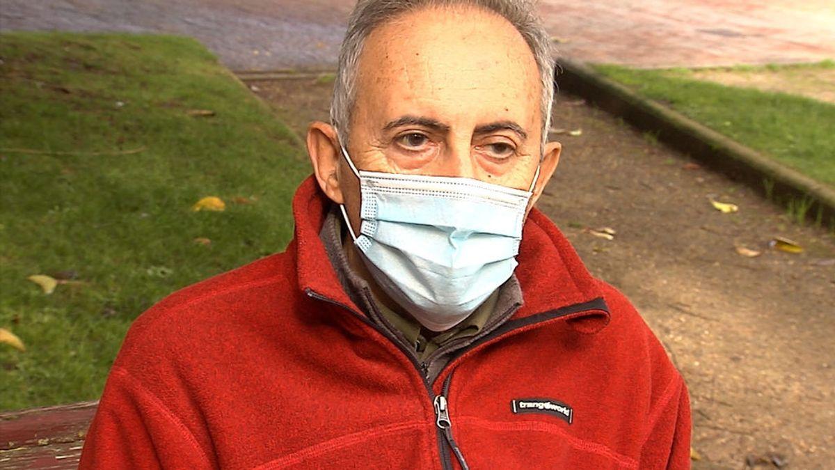 """Fernando, 75 años, 92 días en la UCI: """"Durante dos meses estuve desconectado de la vida"""""""