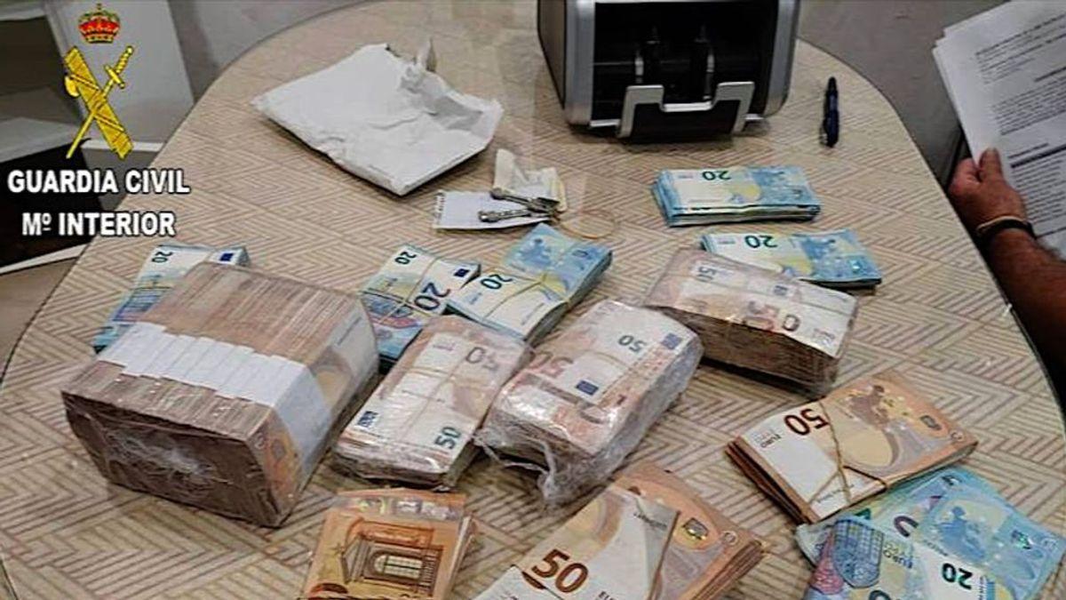 El dinero del `Tomate´:  intervenidos 2,5 millones de euros a la organización del narco sanluqueño