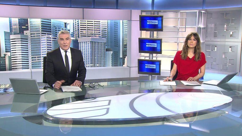 Con David Cantero e Isabel Jiménez Informativos Telecinco 2020 Mediodía 16/11/2020