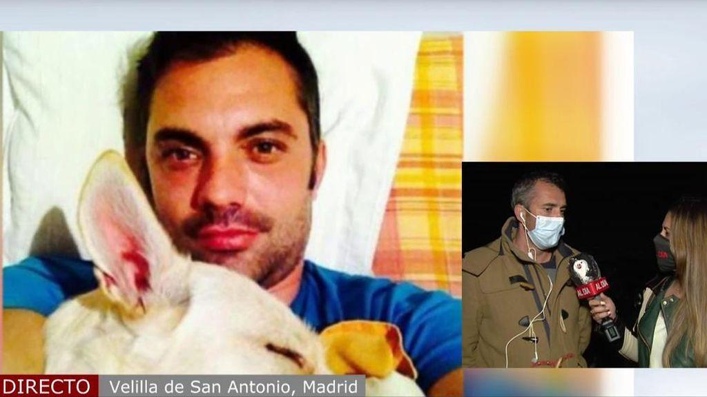 Entrevista primo del fallecido en Velilla de San Antonio