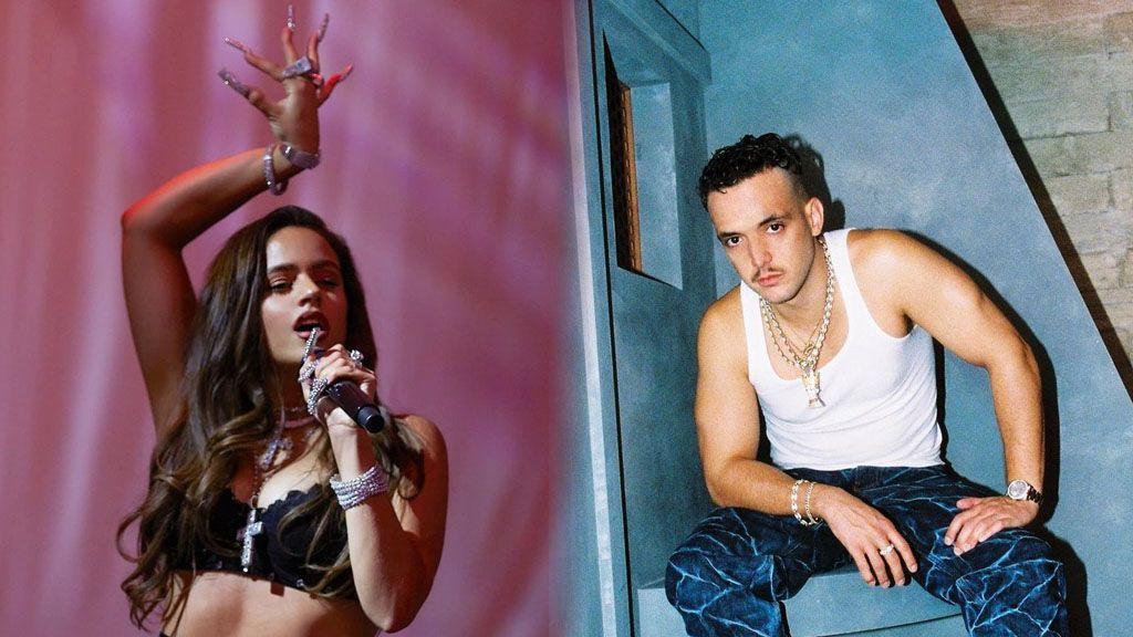 C. Tangana y Rosalía, una historia de indirectas en sus canciones y sus redes sociales