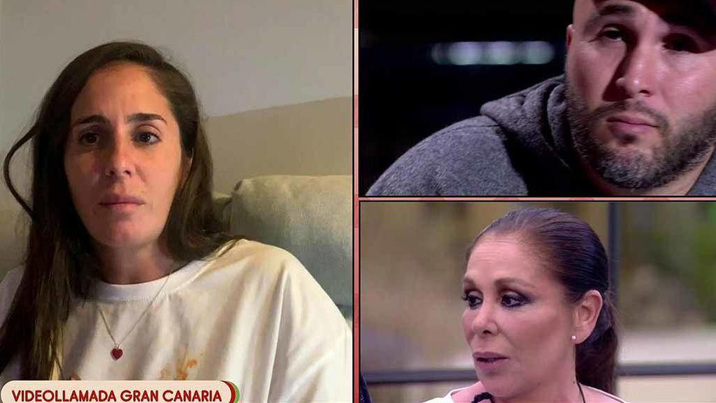 """Anabel Pantoja, """"con ansiedad"""" tras la entrevista de Kiko Rivera: """"Fue demoledora, quiero que él esté bien, pero que piense en su madre"""""""