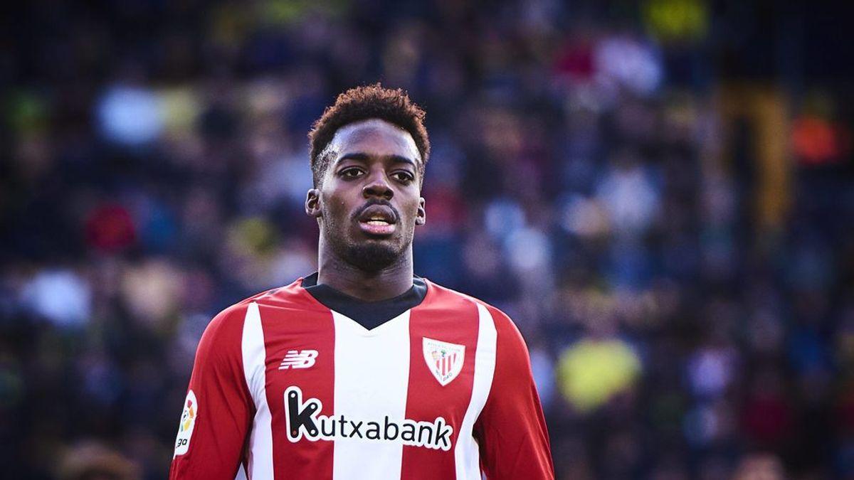 La Fiscalía denuncia a dos aficionados del Espanyol por insultos racistas a Iñaki Williams desde la grada