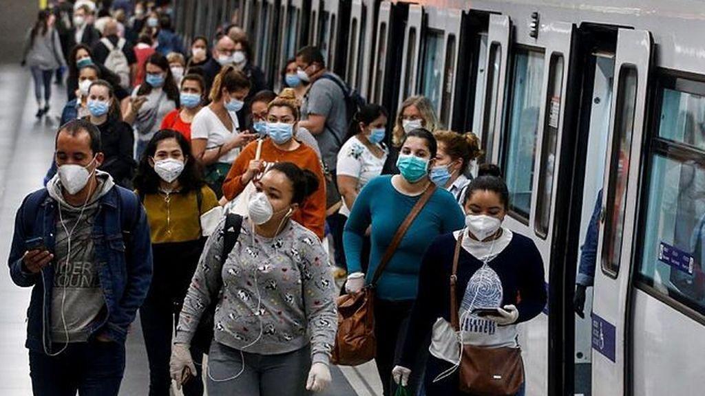 España alcanza el 1,5 millón de contagios de covid19