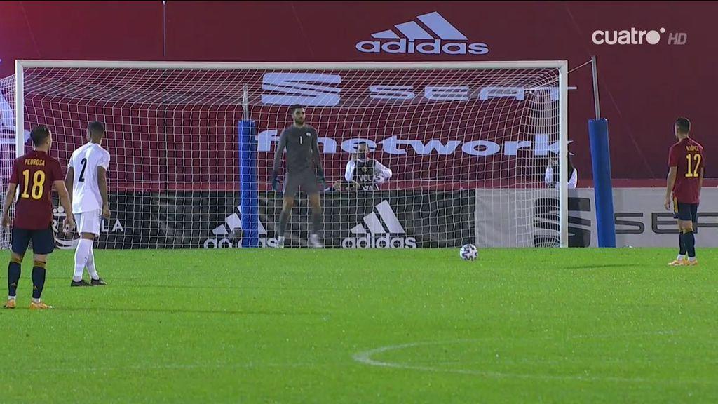 La Sub-21 cierra la fase de clasificación con la victoria y el buen juego ante Israel (3-0)