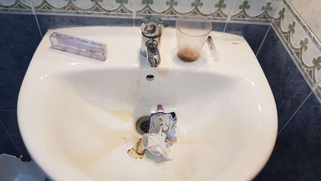El baño de una de las residencias de la Región.