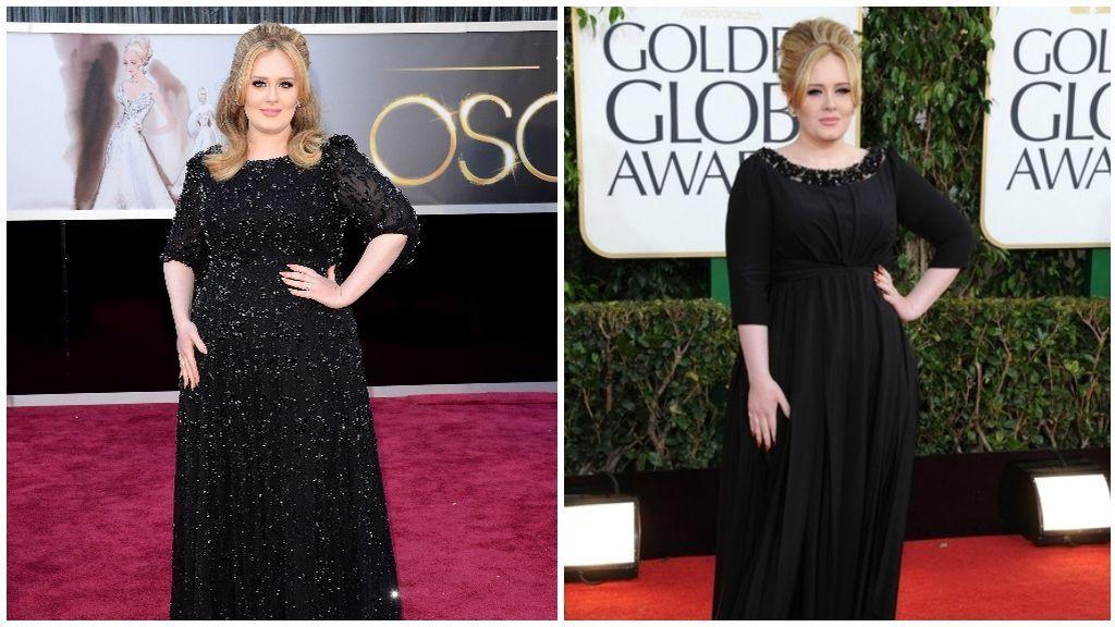 Más adelante, Adele decidió cambiar de look y se pasó al rubio.