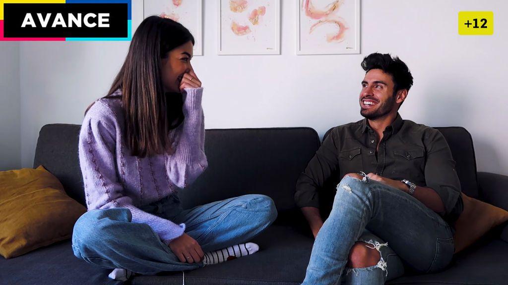 Avance | Noel y Estela se atreven a la prueba del  test de compatibilidad para ver si su match es verdadero