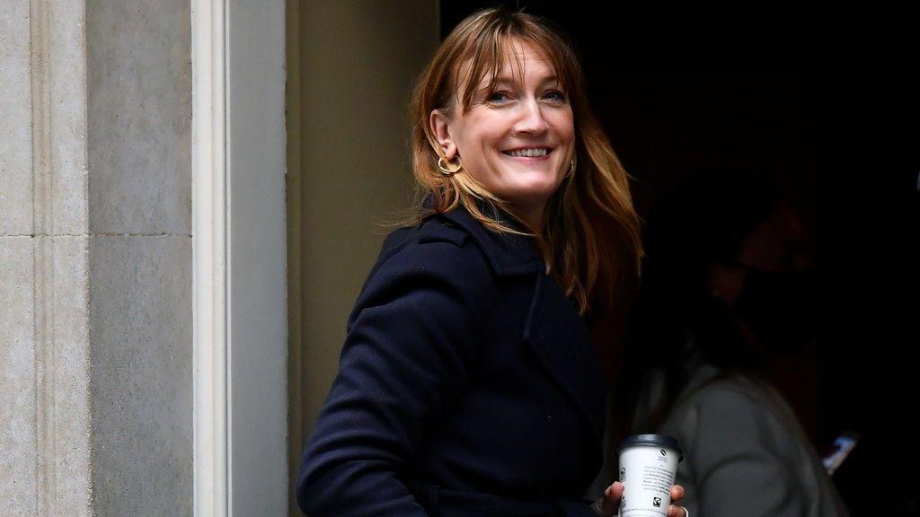 Allegra Stratton, la nueva cara pública de Downing Street