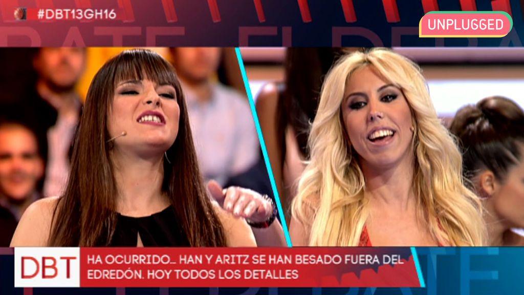 Marta Peñate y Amanda