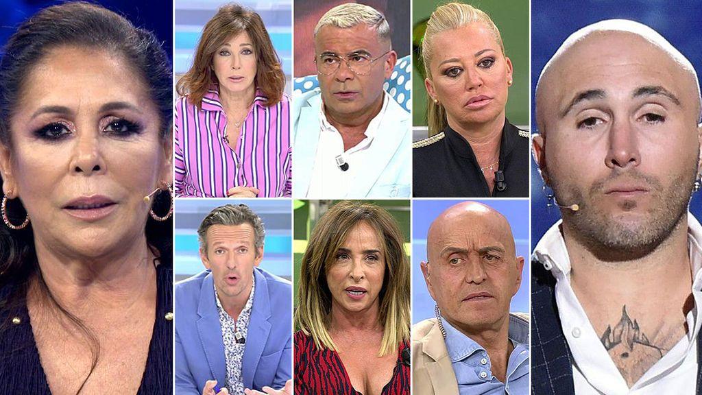 Los grandes rostros de Mediaset se posicionan: ¿Quiénes apoyan a Isabel Pantoja y quiénes a Kiko Rivera?