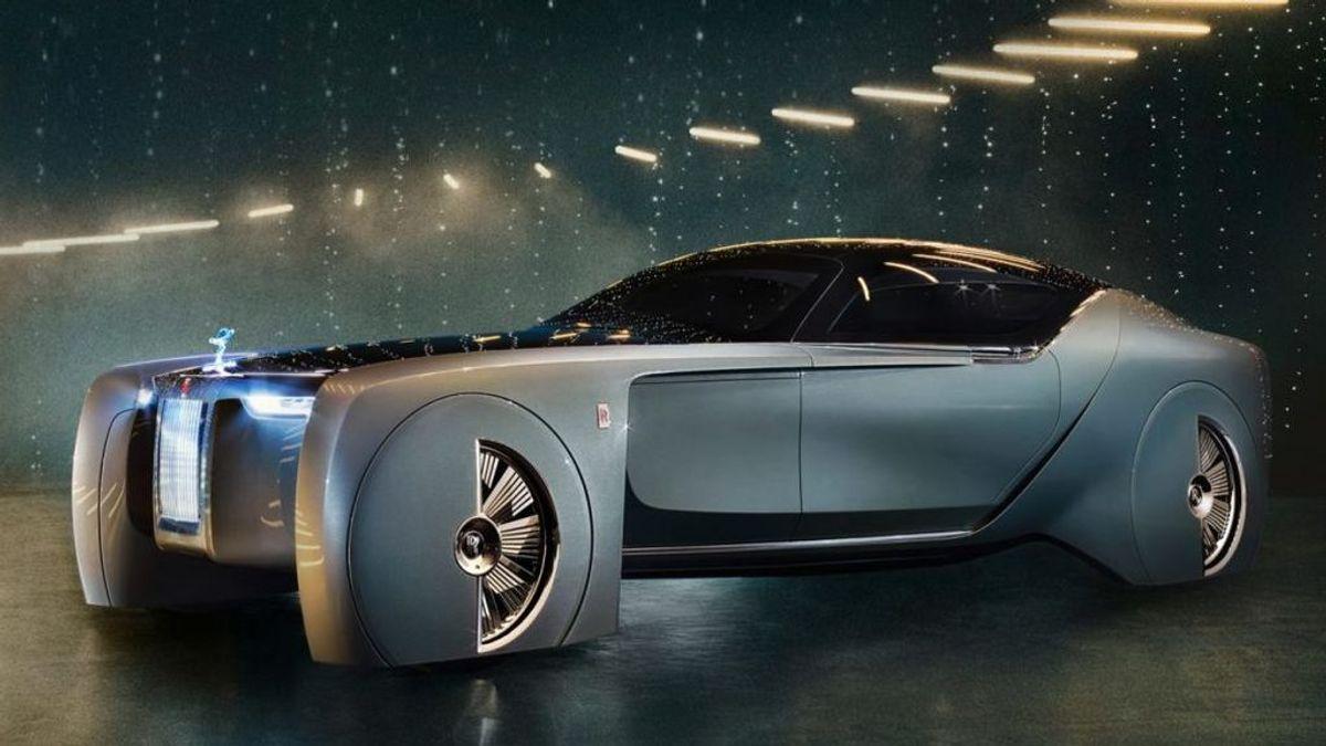 Rolls-Royce ve el futuro eléctrico: así es el 103EX, su prototipo futurista