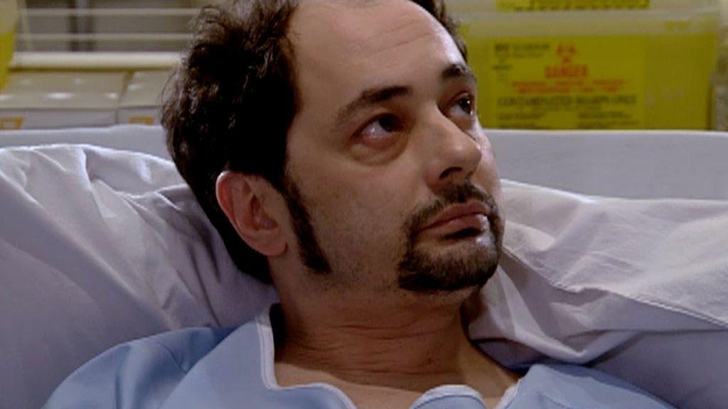 Jordi Sánchez fue paciente en 'Hospital Central' antes de meterse en la piel de Recio en 'LQSA'