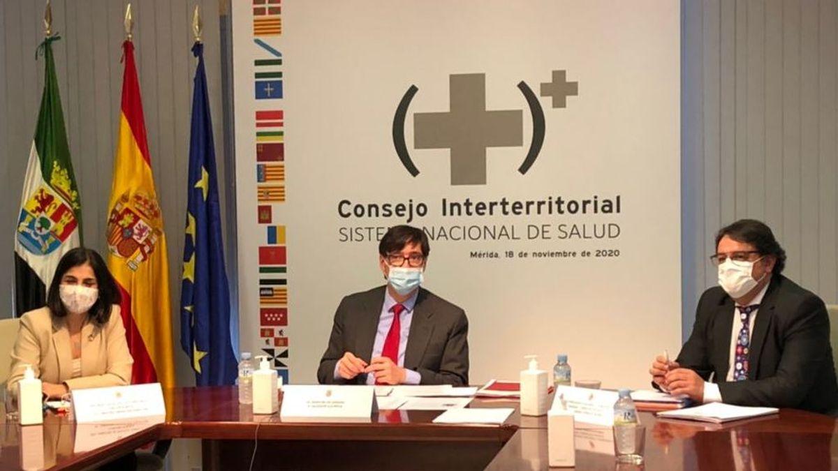 El ministro de Sanidad, Salvador Illa, preside el Consejo Interterritorial