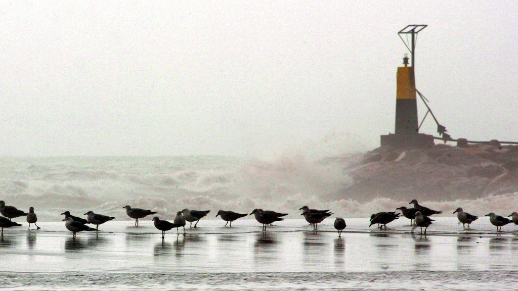Viento y olas de 6 metros en las costas mediterráneas: el tiempo que hará el miércoles en España