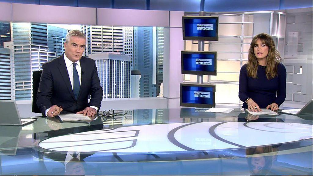 Con David Cantero e Isabel Jiménez Informativos Telecinco 2020 Mediodía 18/11/2020