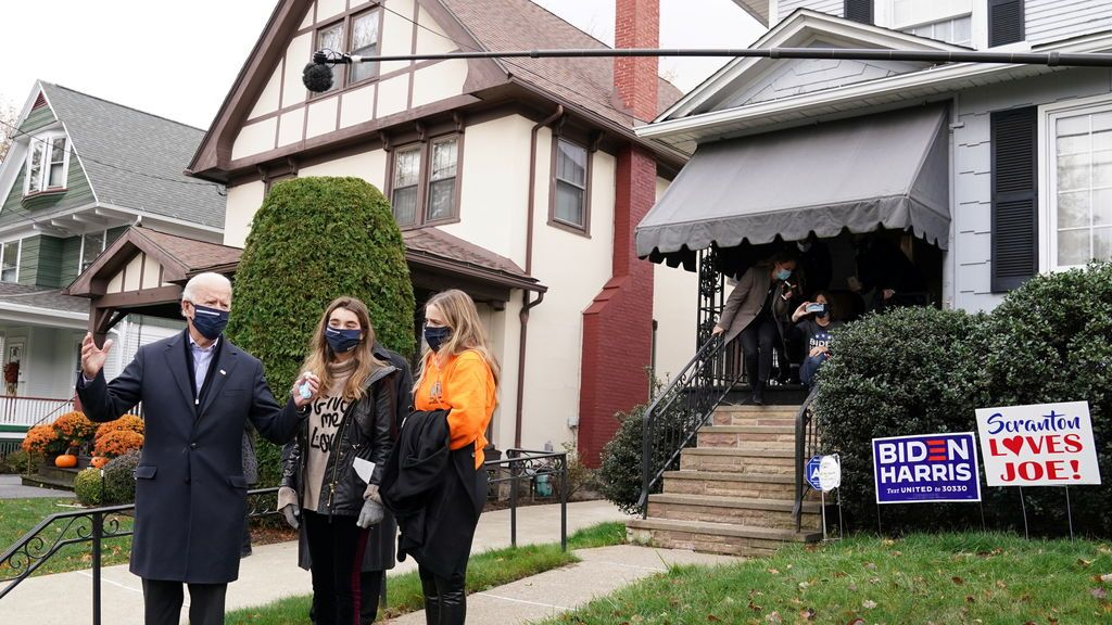 Todas las casas del presidente Biden