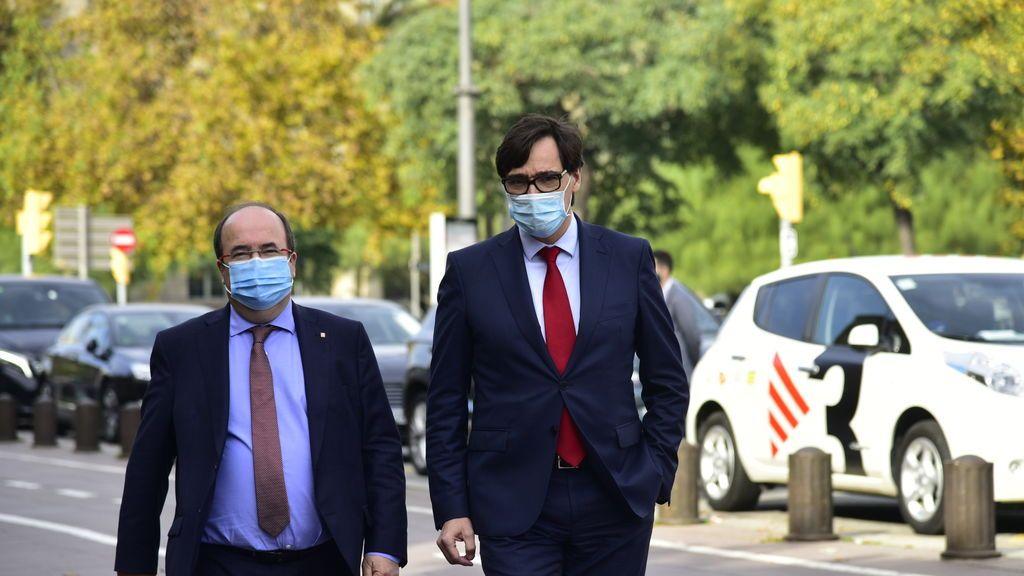 El Cis cuela en su escuesta al ministro Illa como candidato del PSC a la presidencia de la Generalitat