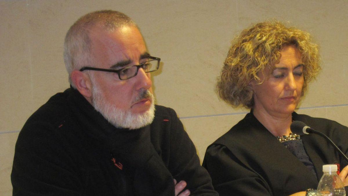 Alfonso Basterra rompe a llorar tras enterarse del suicidio de su exmujer