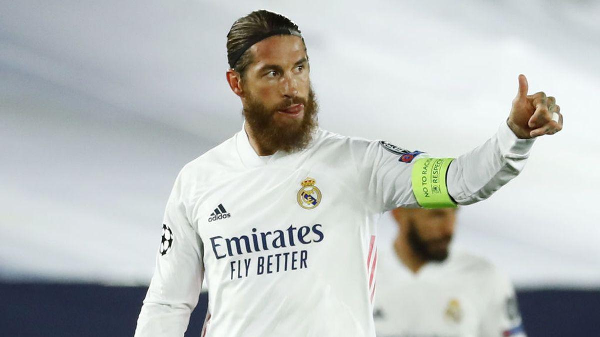 Sergio Ramos continuaría dos años más en el Real Madrid.