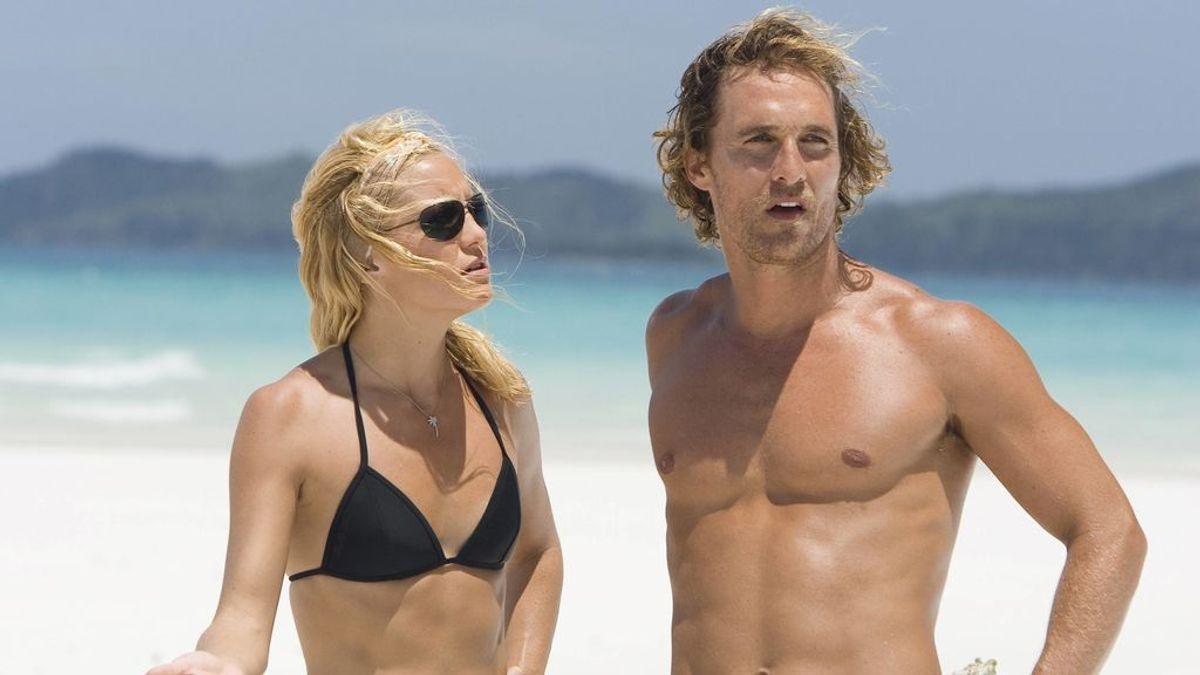 Matthew McConaughey explica por qué tenía mocos en su beso de película con Kate Hudson