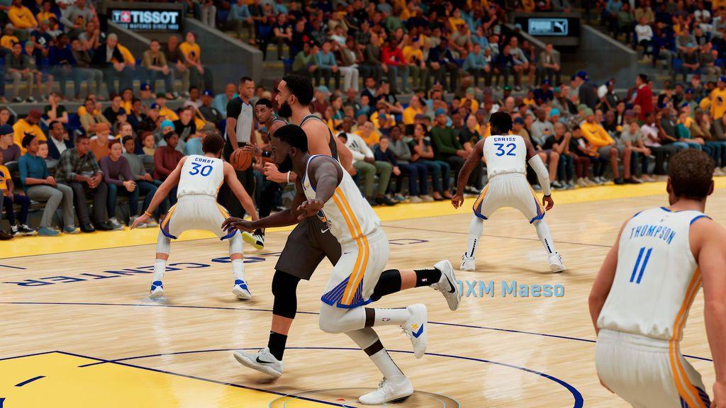 NBA 2K21 en PS5