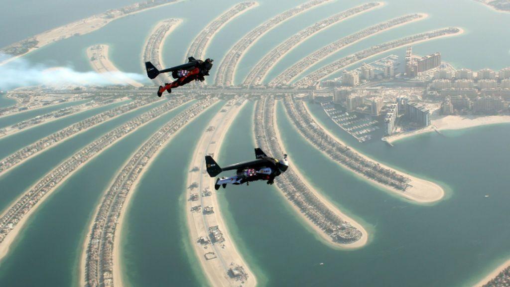 Muere Vince Ferret, 'El Hombre Pájaro', tras un entrenamiento aéreo en Dubai