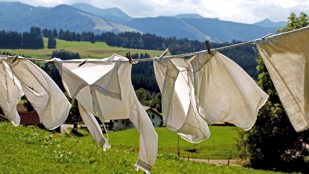 Cómo secar la ropa en invierno