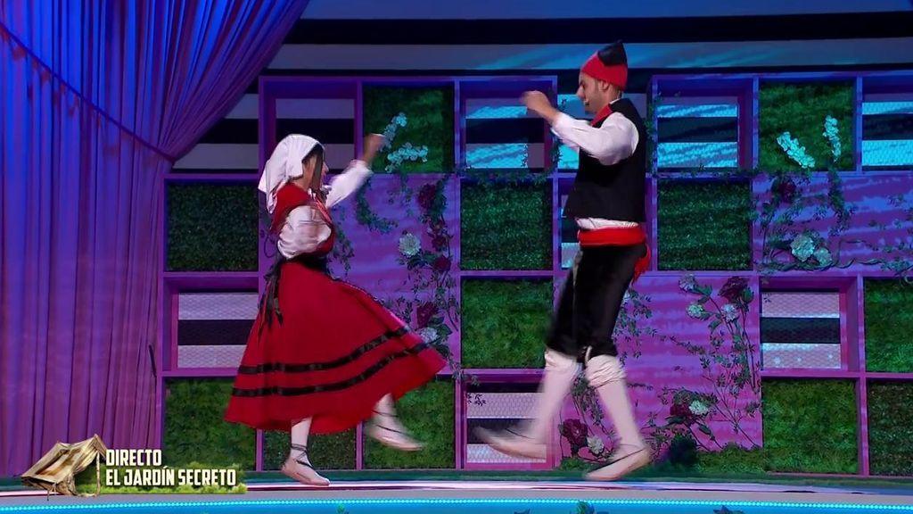 La prueba de bailes regionales