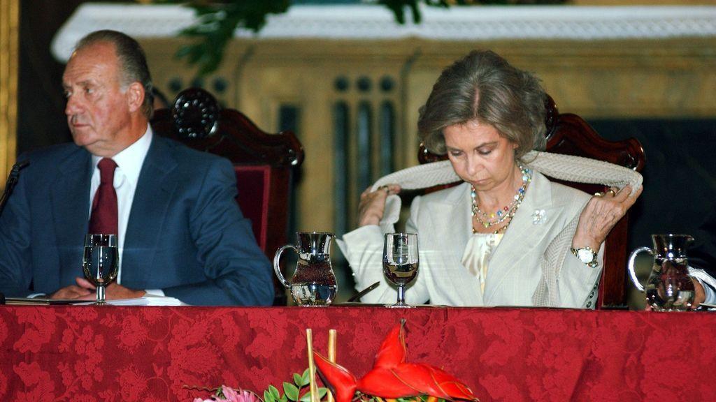 El rey Juan Carlos y la reina Sofía, en imagen de archivo