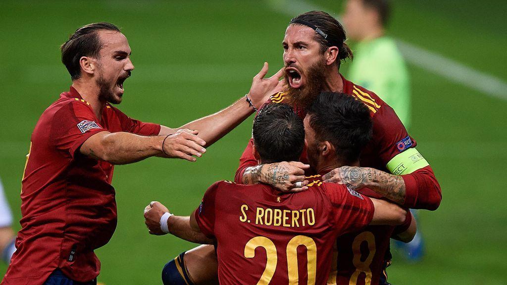 España golea a Alemania con hat-trick de Ferrán Torres y consigue el pase a la 'Final Four' (6-0)