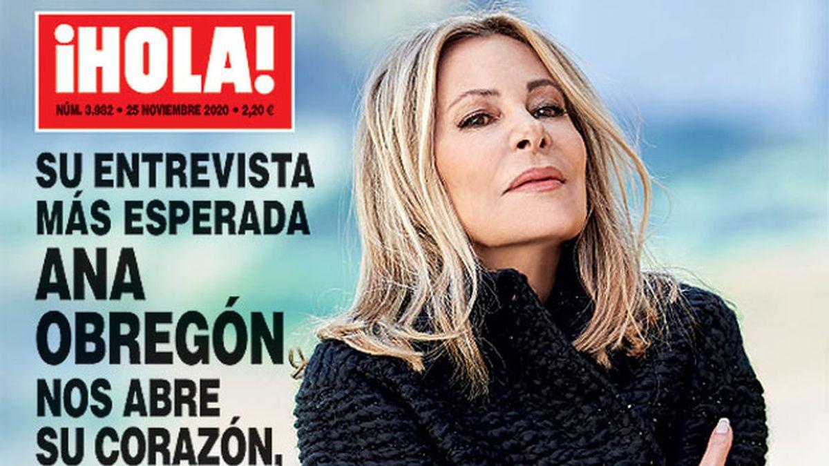 Ana Obregón da una entrevista a ¡Hola! tras la muerte de su hijo