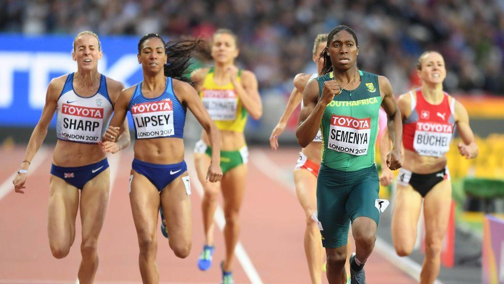 """Semenya llevará al Atletismo al Tribunal Europeo de Derechos Humanos: no la dejan competir dada su  """"intersexualidad"""""""