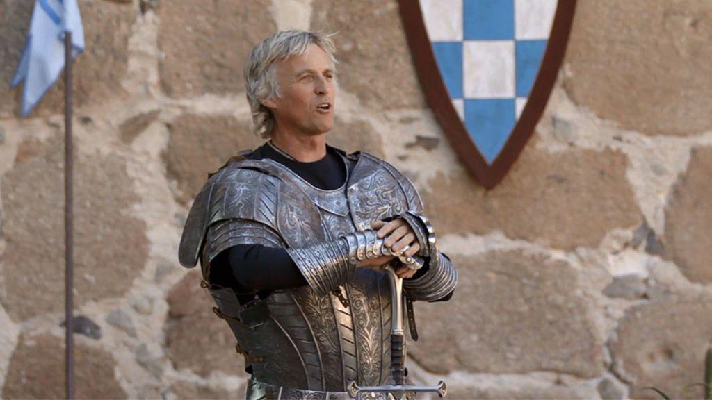 Jesús Calleja se convierte en un guerrero medieval