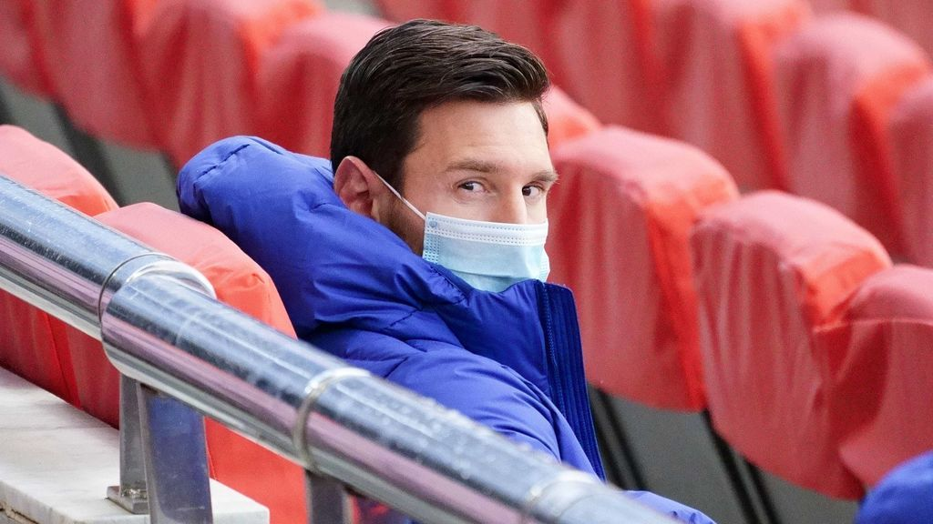 Leo Messi explotó tras su llegada a Barcelona y un vuelo de 15 horas.